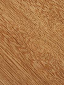 Stół do jadalni Juno, Blat: płyta pilśniowa średniej , Stelaż: metal malowany proszkowo, Fornir z drewna dębowego, S 180 x G 90 cm
