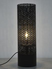 Duża lampa podłogowa z wtyczką Maison, Czarny, Ø 24 x W 78 cm