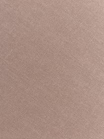 Leinen-Tischläufer Lion in Taupe, 100% Leinen, Taupe, 40 x 145 cm