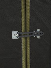 Narożna sofa modułowa ze sztruksu Lennon, Tapicerka: sztruks (92% poliester, 8, Stelaż: lite drewno sosnowe, skle, Nogi: tworzywo sztuczne Nogi zn, Sztruksowy zielony, S 327 x G 180 cm