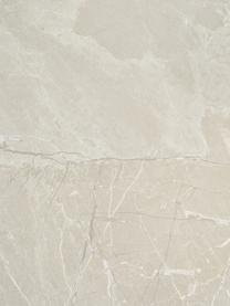 Stolik kawowy z imitacją trawertynu Lesley, Płyta pilśniowa średniej gęstości (MDF) pokryta folią melaminową, Beżowy, S 90 x W 40 cm