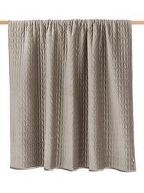 Narzuta z dekoracyjnym pikowaniem Tily, 100% poliester, Beżowy, S 180 x D 260 cm (na łóżka do 140 x 200 cm)