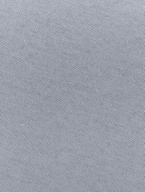 Einfarbige Bankauflage Panama in Hellgrau, 50% Baumwolle, 45% Polyester, 5% andere Fasern, Hellgrau, 48 x 150 cm
