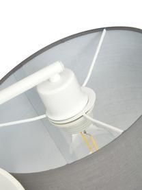 Duża lampa sufitowa Pastore, Brązowy, szary, biały, Ø 61 x W 26 cm