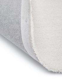 Zacht hoogpolig vloerkleed Rubbie met regenboog patroon in hoog-laag-structuur, Bovenzijde: microvezels (100% polyest, Onderzijde: 55% polyester, 45% katoen, Beige, B 200 x L 300 cm (maat L)