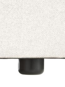 Modulaire hoekbank Lennon in beige, Bekleding: 100% polyester De slijtva, Frame: massief grenenhout, multi, Poten: kunststof De poten bevind, Geweven stof beige, B 327 x D 180 cm