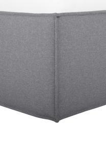 Polsterbett Dream in Dunkelgrau, Korpus: Massives Kiefernholz und , Bezug: 100% Polyester (Strukturs, Grau, 180 x 200 cm