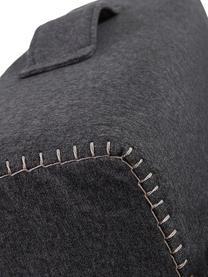 Schlafsessel Arty in Grau, ausklappbar, Bezug: Polyester Der hochwertige, Graphitgrau, 70 x 67 cm