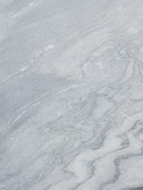Marmor-Wandregal Porter, Regalboden: Marmor, Wandhalterung: Schwarz Regal: Grau, marmoriert, 60 x 24 cm