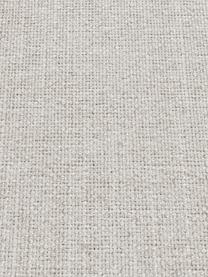 Sofa Moby (3-Sitzer) in Beige mit Metall-Füßen, Bezug: Polyester Der hochwertige, Gestell: Massives Kiefernholz, Füße: Metall, pulverbeschichtet, Webstoff Beige, B 220 x T 95 cm