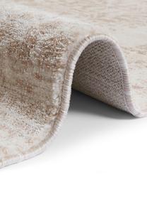 Teppich Garonne im Vintage Style, Flor: 100% Polypropylen, Kupferbraun, Beige, B 200 x L 290 cm (Größe L)