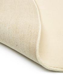 Runder Wollteppich Ida in Beige, Flor: 100% Wolle, Beige, Ø 200 cm (Größe L)