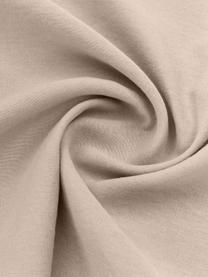 Gewaschene Leinen-Bettwäsche Nature in Beige, Halbleinen (52% Leinen, 48% Baumwolle)  Fadendichte 108 TC, Standard Qualität  Halbleinen hat von Natur aus einen kernigen Griff und einen natürlichen Knitterlook, der durch den Stonewash-Effekt verstärkt wird. Es absorbiert bis zu 35% Luftfeuchtigkeit, trocknet sehr schnell und wirkt in Sommernächten angenehm kühlend. Die hohe Reißfestigkeit macht Halbleinen scheuerfest und strapazierfähig, Beige, 240 x 220 cm + 2 Kissen 80 x 80 cm