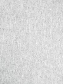 Sofa narożna Melva (4-osobowa), Tapicerka: poliester Dzięki tkaninie, Nogi: lite drewno bukowe, lakie, Jasny szary, S 319 x G 144 cm