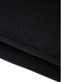 Armlehnstuhl Emilia mit Holzbeine, Bezug: Polyestersamt Der hochwer, Beine: Eichenholz, ölbehandelt, Webstoff Anthrazit, Beine Eiche, B 57 x T 59 cm