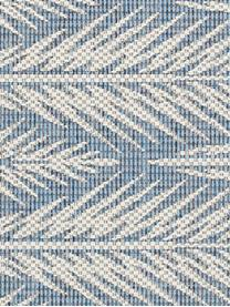 Design In- & Outdoor-Teppich Pella mit grafischem Muster, 100% Polypropylen, Blau, Beige, B 200 x L 290 cm (Größe L)