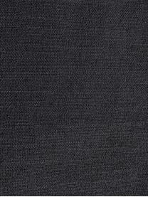 Sessel Moby in Dunkelgrau mit Metall-Füßen, Bezug: Polyester Der hochwertige, Gestell: Massives Kiefernholz, Füße: Metall, pulverbeschichtet, Webstoff Dunkelgrau, B 90 x T 90 cm