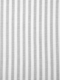 Pościel z bawełny Ellie, Biały, szary, 135 x 200 cm