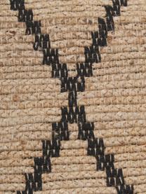 Handgefertigter Jute-Läufer Atta, 100% Jute, Beige, 80 x 250 cm
