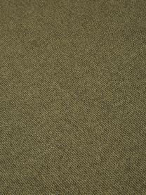 Modulares Sofa Lennon (3-Sitzer) in Grün, Bezug: Polyester Der hochwertige, Gestell: Massives Kiefernholz, Spe, Füße: Kunststoff, Webstoff Grün, B 238 x T 119 cm