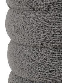 Bouclé-Polsterbank Alto in Grau, Bezug: Bouclé (100% Polyester) D, Gestell: Massives Kiefernholz, Spe, Bouclé Grau, 110 x 47 cm