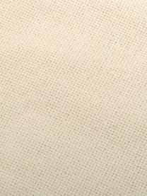 Kissen Prague in Hellbeige mit Fransenabschluss, mit Inlett, Vorderseite: 100% Baumwolle, grob gewe, Rückseite: 100% Baumwolle, Hellbeige, 40 x 40 cm