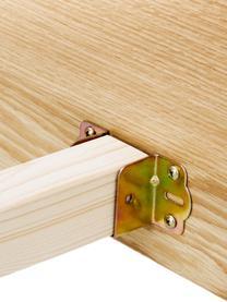 Holzbett Tammy ohne Kopfteil, Gestell: Sperrholz mit Eichenholzf, Füße: Massives Eichenholz, Eichenholz, 180 x 200 cm