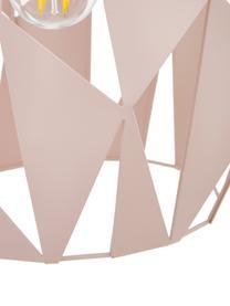 Skandi-Pendelleuchte Carlton, Aprikosenfarben, Ø 31 x H 40 cm