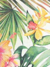 Outdoor-Kissenhülle Kokamo mit tropischem Print, 100% Dralon® Polyacryl, Mehrfarbig, 30 x 50 cm