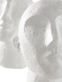 Set 2 fermalibri Stargazing, Materiale sintetico, Bianco, Larg. 23 x Alt. 16 cm