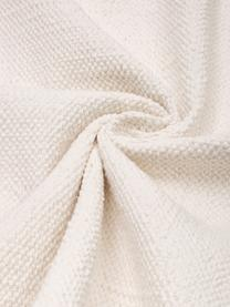 Dun  katoenen vloerkleed Agneta in crèmewit, handgeweven, 100% katoen, Crèmewit, B 200 x L 300 cm (maat L)