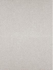 Chaise longue in tessuto beige Fluente, Rivestimento: 80% poliestere, 20% ramiè, Struttura: legno di pino massiccio, Piedini: metallo verniciato a polv, Tessuto beige, Larg. 202 x Prof. 85 cm
