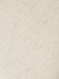 Fauteuil moderne beige Milo, Tissu beige