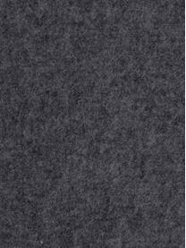 Filz-Sitzauflagen Avaro Square, 4 Stück, Anthrazit, 35 x 35 cm