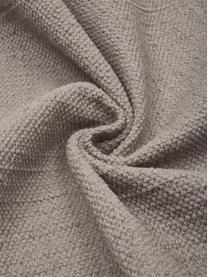 Tappeto in cotone tessuto a mano Agneta, 100% cotone, Grigio, Larg. 70 x Lung. 250 cm