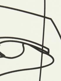 Gerahmter Leinwanddruck Aventurine, Rahmen: Kunststoff, Bild: Digitaldruck auf Leinen, Weiß, 45 x 60 cm
