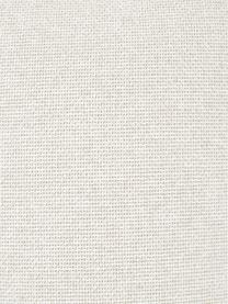 Reposapiés puf Lennon, Tapizado: poliéster Alta resistenci, Estructura: madera de pino maciza, ma, Patas: plástico, Tejido beige, An 88 x Al 43 cm