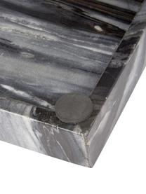 Vassoio in marmo Bifrost, Marmo, Grigio marmorizzato, Larg. 30 x Prof. 15 cm