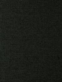Fauteuil Fluente in donkergroen met metalen poten, Bekleding: 100% polyester, Frame: massief grenenhout, Poten: gepoedercoat metaal, Geweven stof donkergroen, B 74 x D 85 cm