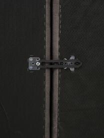Szezlong modułowy XL ze sztruksu Lennon, Tapicerka: sztruks (92% poliester, 8, Stelaż: lite drewno sosnowe, skle, Nogi: tworzywo sztuczne Nogi zn, Sztruksowy brązowy, S 357 x G 119 cm