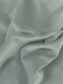 Einfarbige Samt-Kissenhülle Dana in Salbeigrün, 100% Baumwollsamt, Salbeigrün, 30 x 50 cm