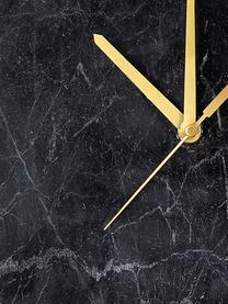 Orologio da parete Brodric, Marmo, Nero, Ø 26 cm
