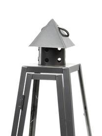 Laterne Piramid, Dunkelgrau, 17 x 40 cm