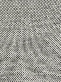 Divano angolare 3 posti in tessuto grigio chiaro Cucita, Rivestimento: tessuto (poliestere) 45.0, Struttura: legno di pino massiccio, Piedini: metallo verniciato, Tessuto grigio chiaro, Larg. 262 x Prof. 163 cm