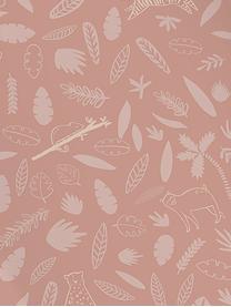 Wickelunterlage Wildlife aus Bio-Baumwolle, Bezug: Bio-Baumwolle, Rosa, 50 x 63 cm
