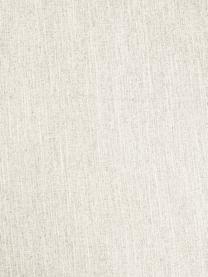 Divano 3 posti in tessuto beige Melva, Rivestimento: poliestere Il rivestiment, Struttura: legno di pino massiccio, , Piedini: legno di pino I piedini s, Tessuto beige, Larg. 240 x Prof. 101 cm