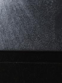 Schubladenkommode Vienna mit Wiener Geflecht, Korpus: Massives Mangoholz, lacki, Schwarz, Beige, 105 x 78 cm