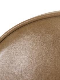 Krzesło ze sztucznej skóry Alice, Tapicerka: sztuczna skóra (PU), Brązowy, S 57 x G 55 cm