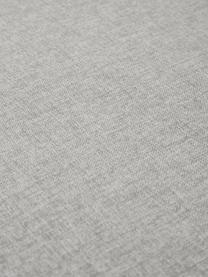 Ohrensessel Kalia in Hellgrau, Bezug: 100% Polyester Der hochwe, Beine: Buchenholz, Gestell: Metall, Webstoff Hellgrau, B 78 x T 80 cm