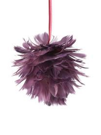 Ciondolo Fay, 2 pz., Viola, rosso, Ø 11 x Alt. 11 cm